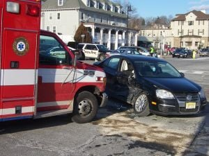 Bernardsville crash