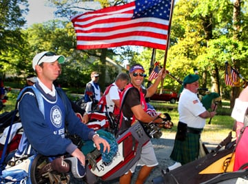 ESSEX COUNTY: Caddies march to Ground Zero to honor golfers