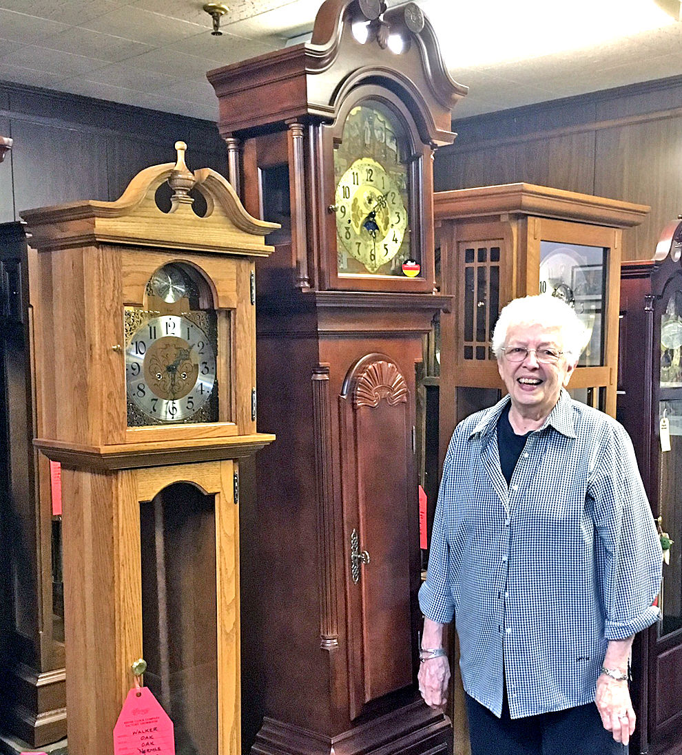 rhyne clock company ends manufacturing news newportplaintalk com end of an era