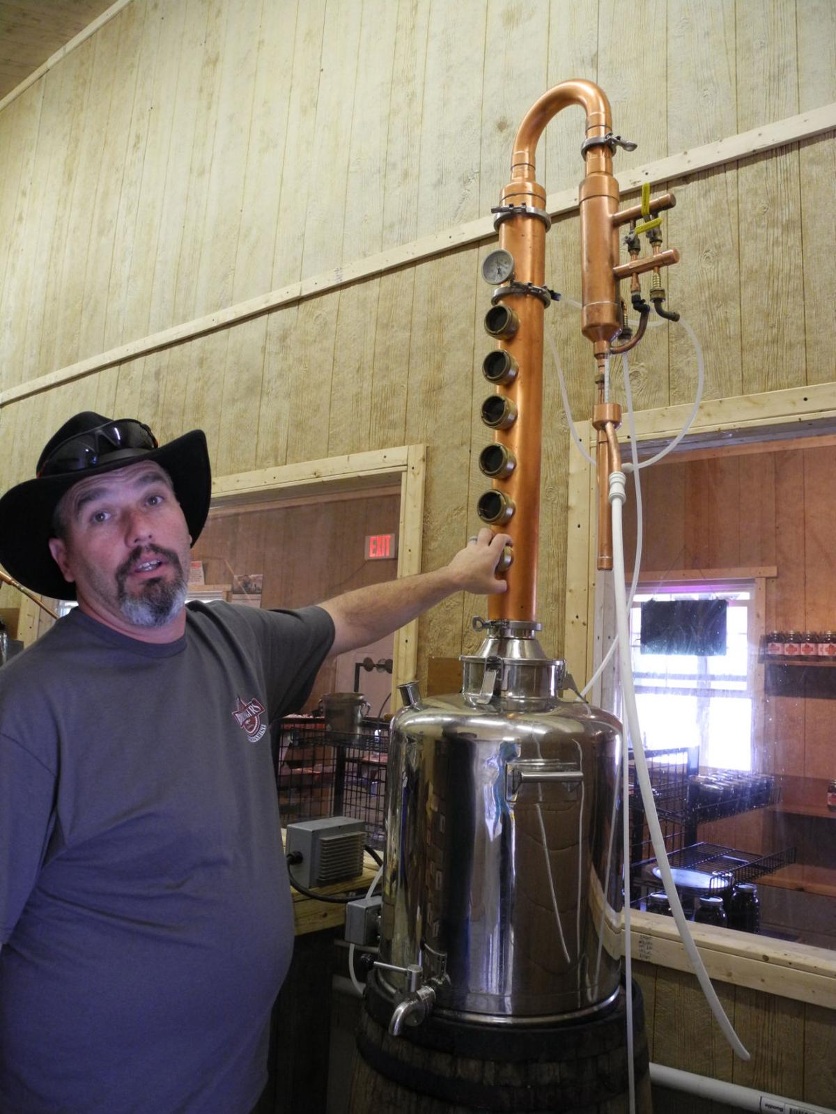 from dairy days to moonshine ways at hartford distillery just the vodka flute