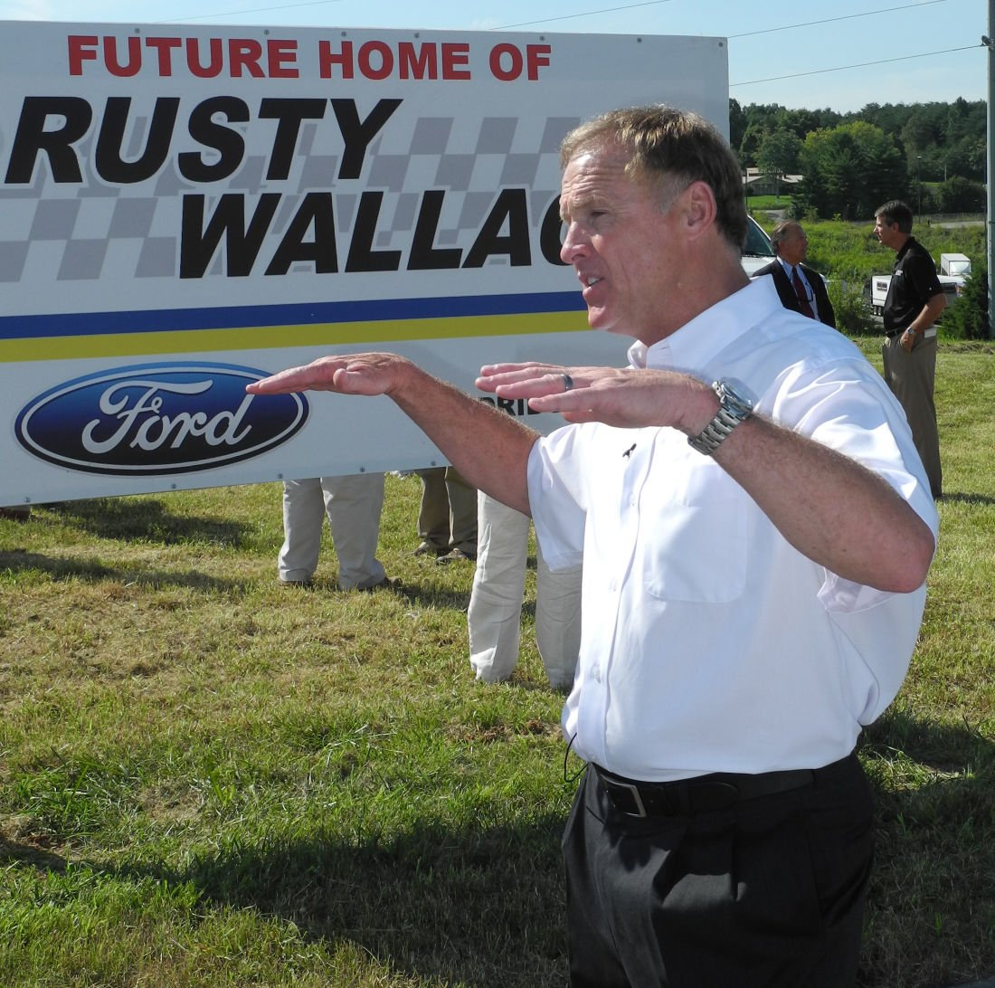 rusty wallace ford construction underway news. Black Bedroom Furniture Sets. Home Design Ideas