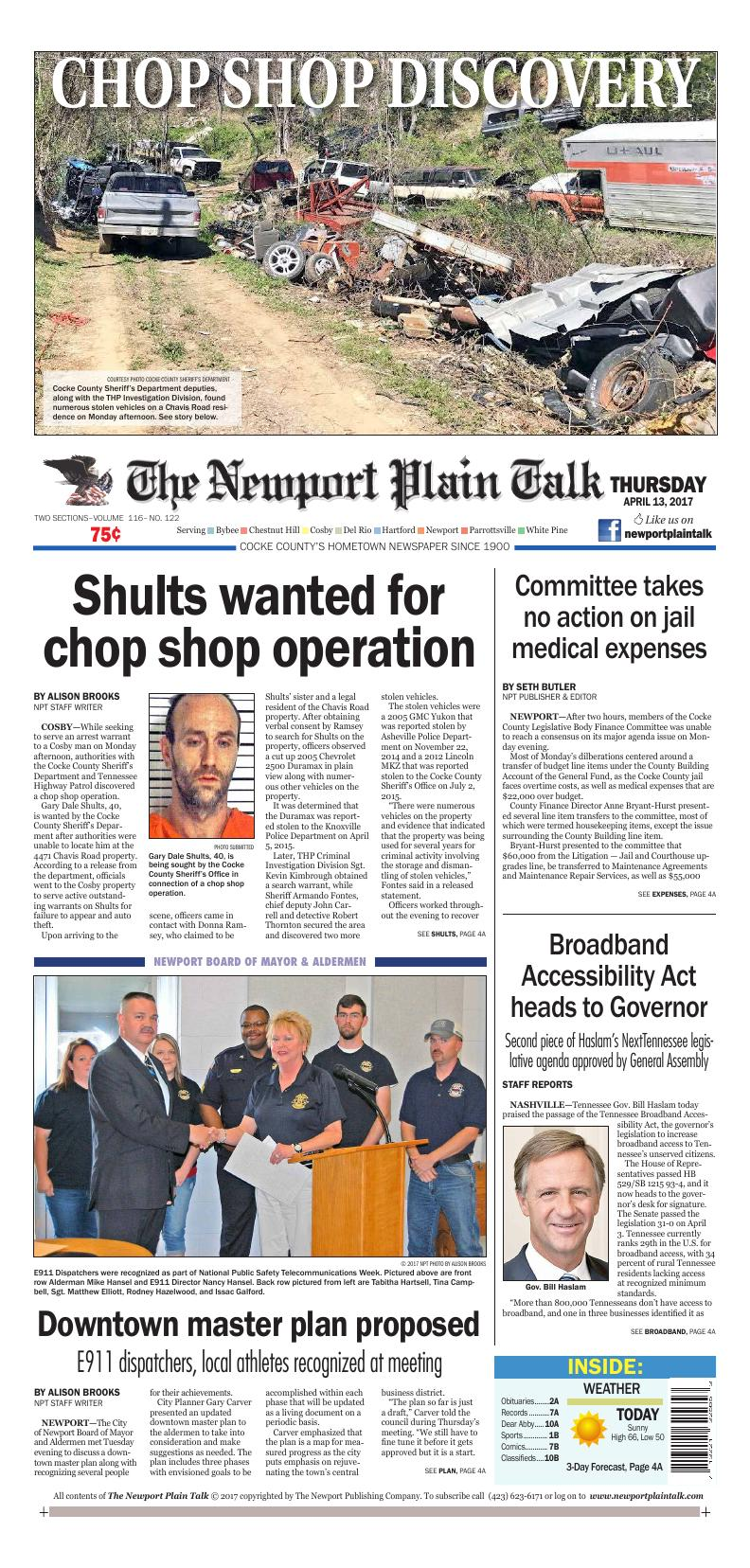 page a1 e edition newportplaintalk com news