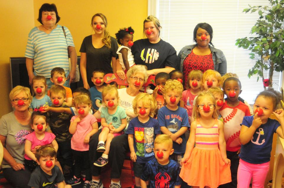 Gingerbread Academy kids 'get silly' on Red Nose Day