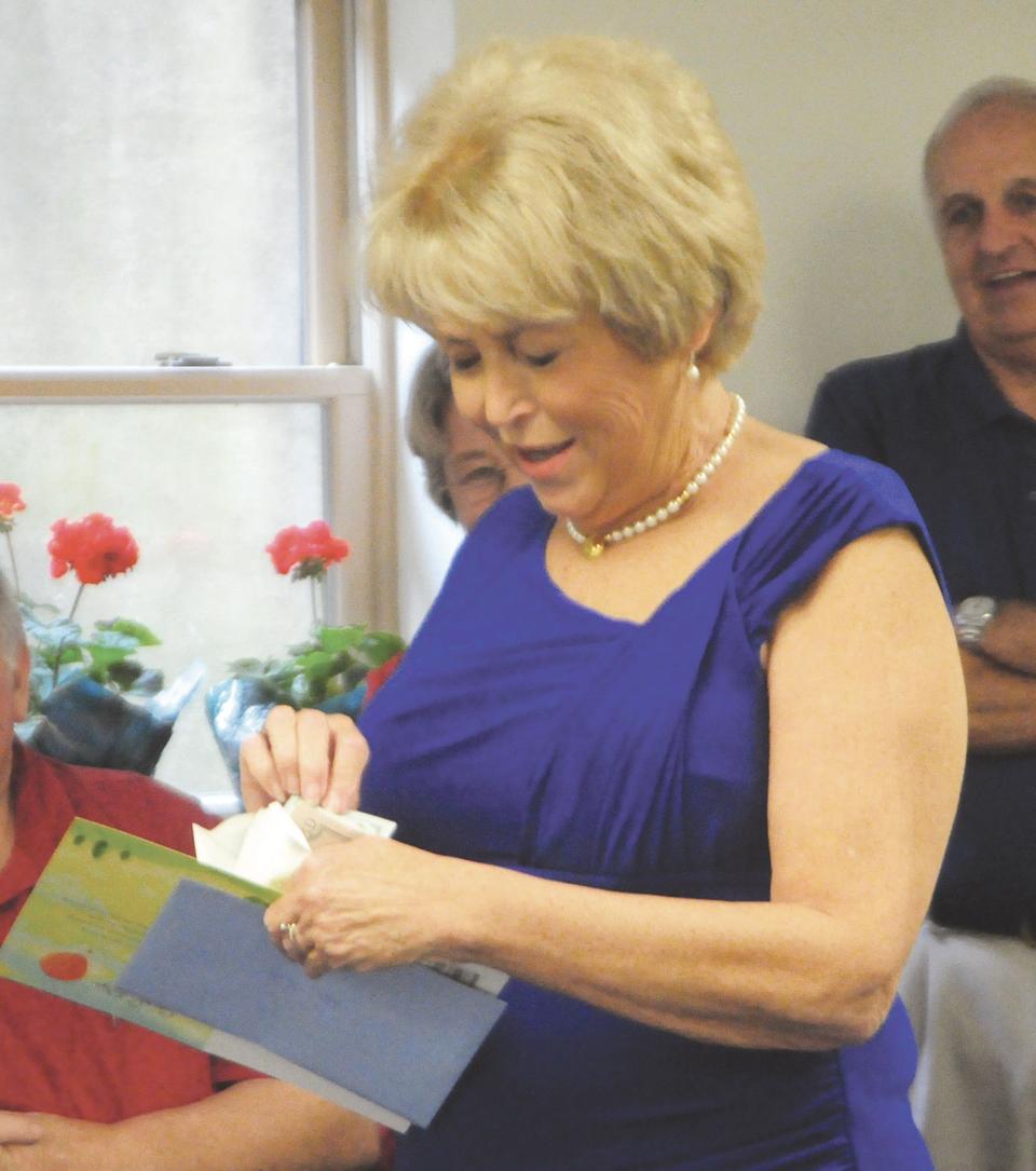 Putty celebrates retirement