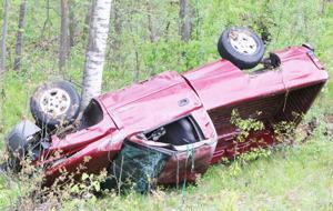 Trucks collide in Poskin