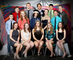 Barron High School Winter Fest Court