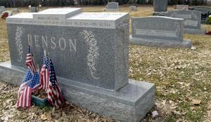 <p>Ezra Taft Benson's grave site in Whitney, Idaho. Benson, who was called as an LDS apostle in 1943 and later served as the Church's president from 1985 to 1994, was born and raised and later buried in Whitney, a small farming community just north of the Utah-Idaho border.</p>