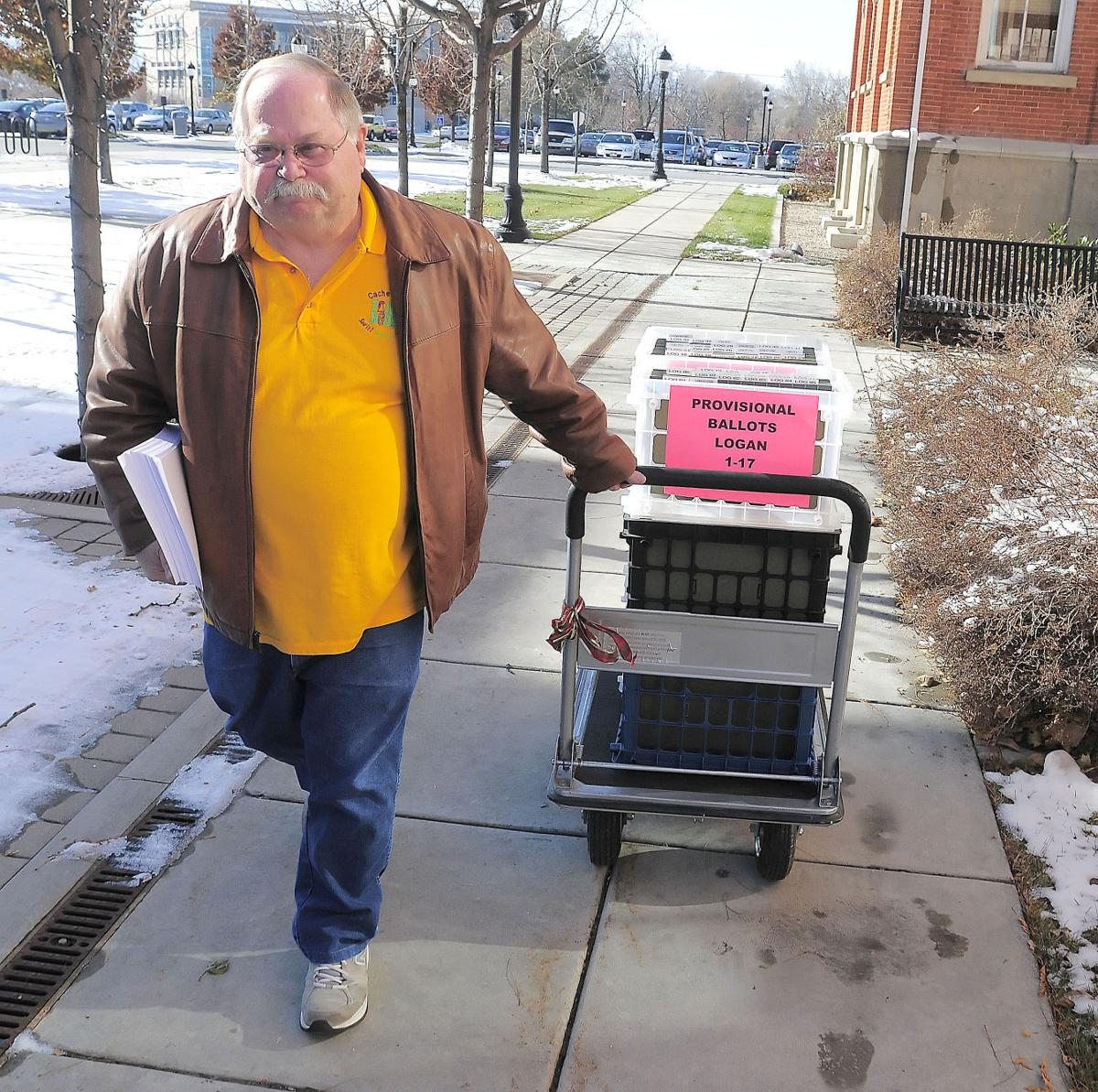 Cache county makes election results official voter for Randy stewart builder