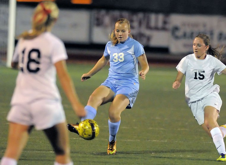 Photo Gallery: Sky View-Logan Soccer