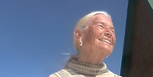 """<p>A Williamsburg Retirement Community resident is seen during a video produced by the facility titled """"#LiveitWell.""""</p>"""