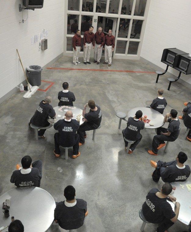 Barber Utah County : Harmony behind bars: Barbershop group cheers inmates with holiday ...