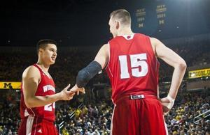 Photos: Badgers grind out a victory at Michigan
