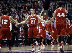 Photos: Badgers men's hoops too much for Northwestern