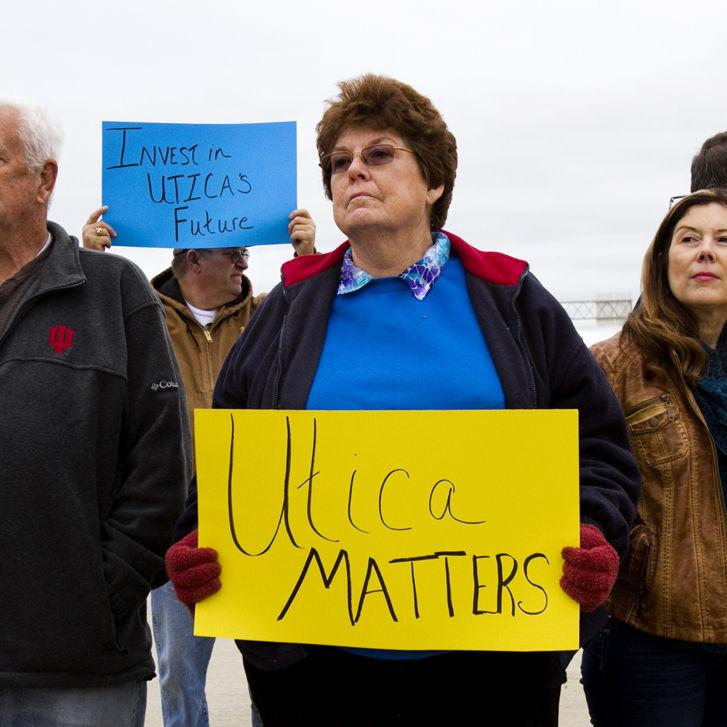 Utica protests location of INDOT maintenance facility