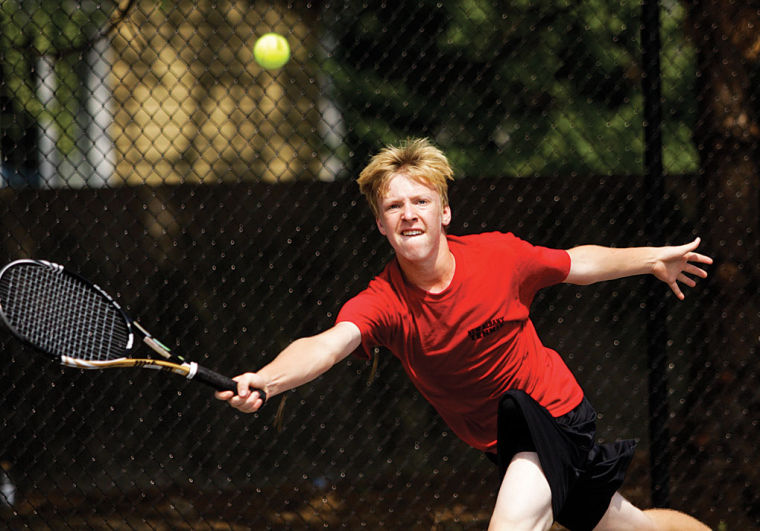 news article joseph captures regional tennis title years