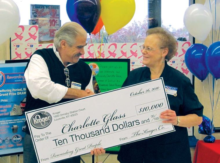 Customer Service Pays: Kroger employee wins $10,000 through ...