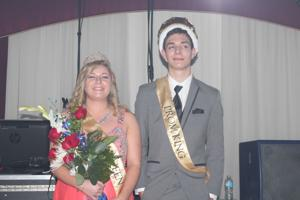 <p>Griffen Farley was named king and Ann Clifton was named queen. </p>