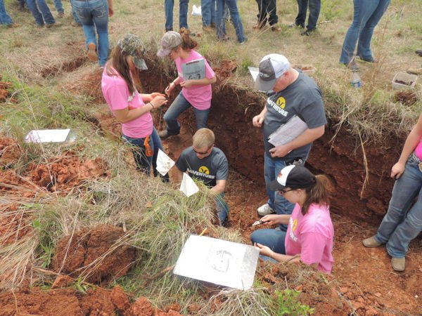 South newton soil judging team takes fourth at nationals for Soil judging