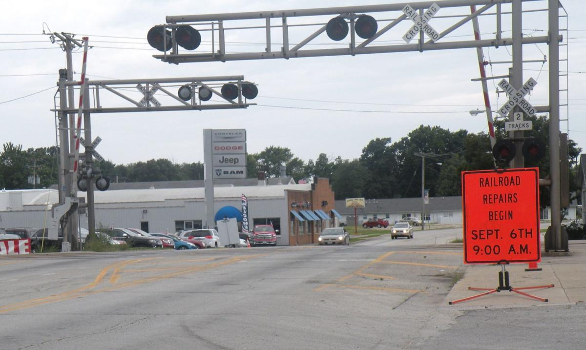walnut street railroad crossing to be closed for repairs