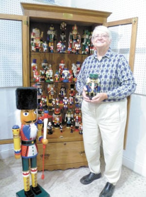 Nutcracker collection on display at museum