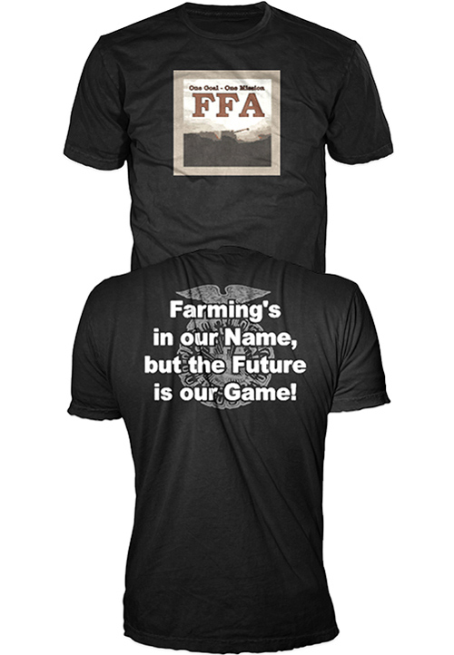 Vote for local student 39 s t shirt design kankankee valley for Ffa t shirt design