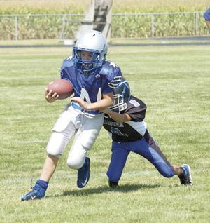Central vs. Iroquois West mighty mites