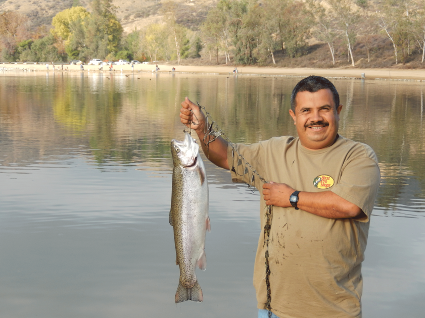 Fishing is good at the yucaipa regional park news mirror for Yucaipa regional park fishing