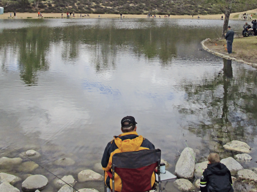 Yucaipa regional park hosts first trout derby for kids for Yucaipa regional park fishing