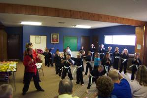 Young Champions Karate Club presents awards with demonstrations ...