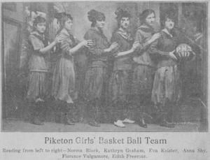 Piketon Girls' Basketball Team
