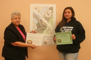 Western High School student wins 'Click It or Ticket' Art Poster Contest