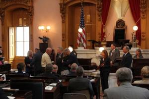 Family of Army SPC Justin Helton honored at Statehouse ceremony