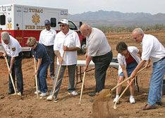 Tubac Fire District breaks ground for new station