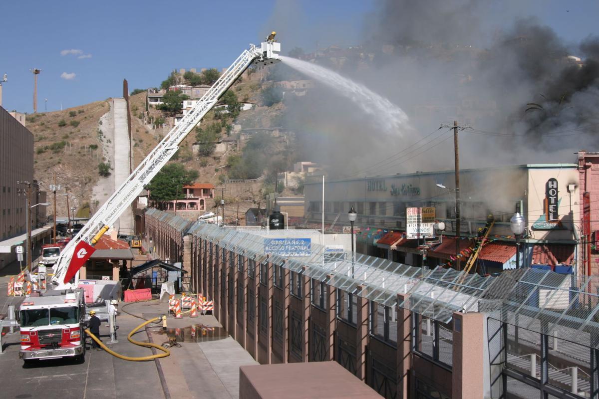 Cross-border firefighting