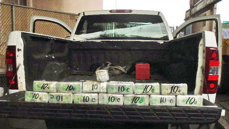 Driver caught trying to sneak $211K into Mexico