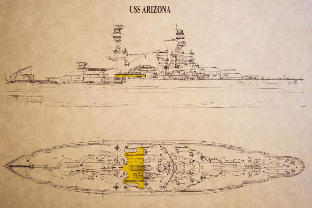 Piece Of Uss Arizona Arrives In Nogales