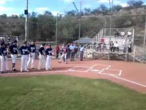 Marcel Renteria first pich(es)-Nogales vs. NorCal