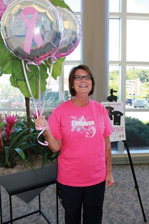 Paulette Barrier cancer survivor