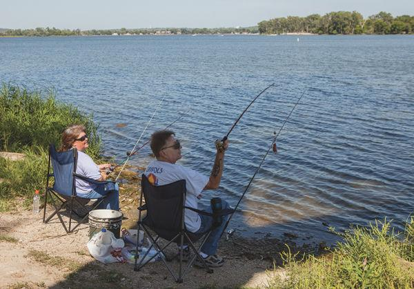 Iowa department of natural resources fishing report the for Dnr fishing report