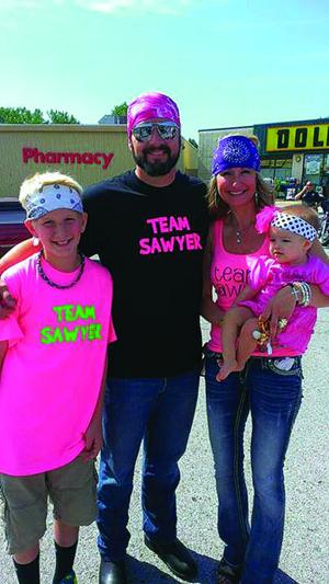 Family, community fights for Team Sawyer