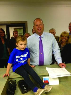 Walsh files papers to run for C.B. mayor