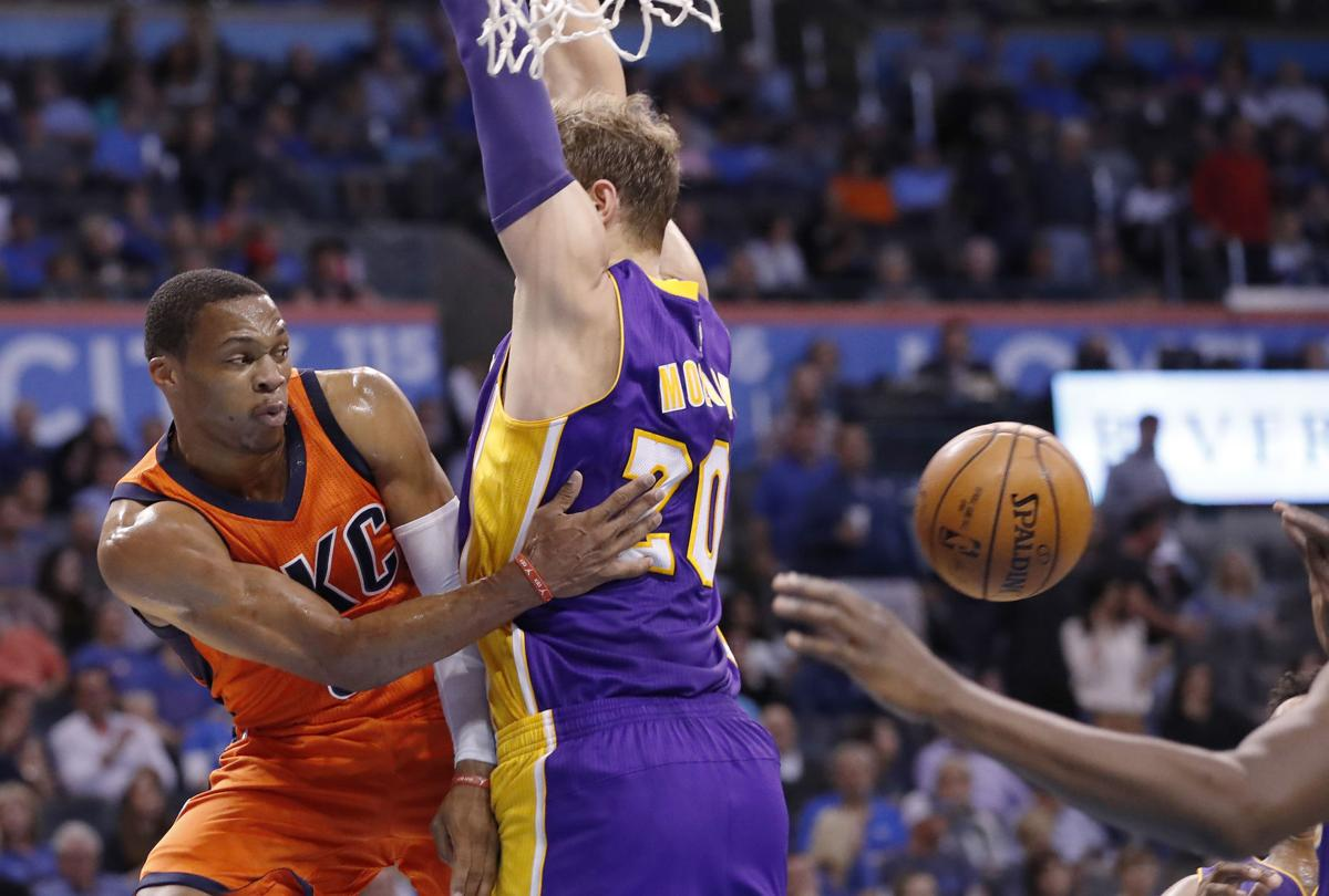 westbrook continues historic start leads thunder to win
