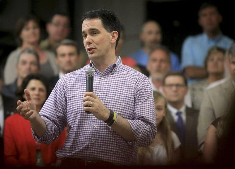 Nominee Scott Walker faces embarassment