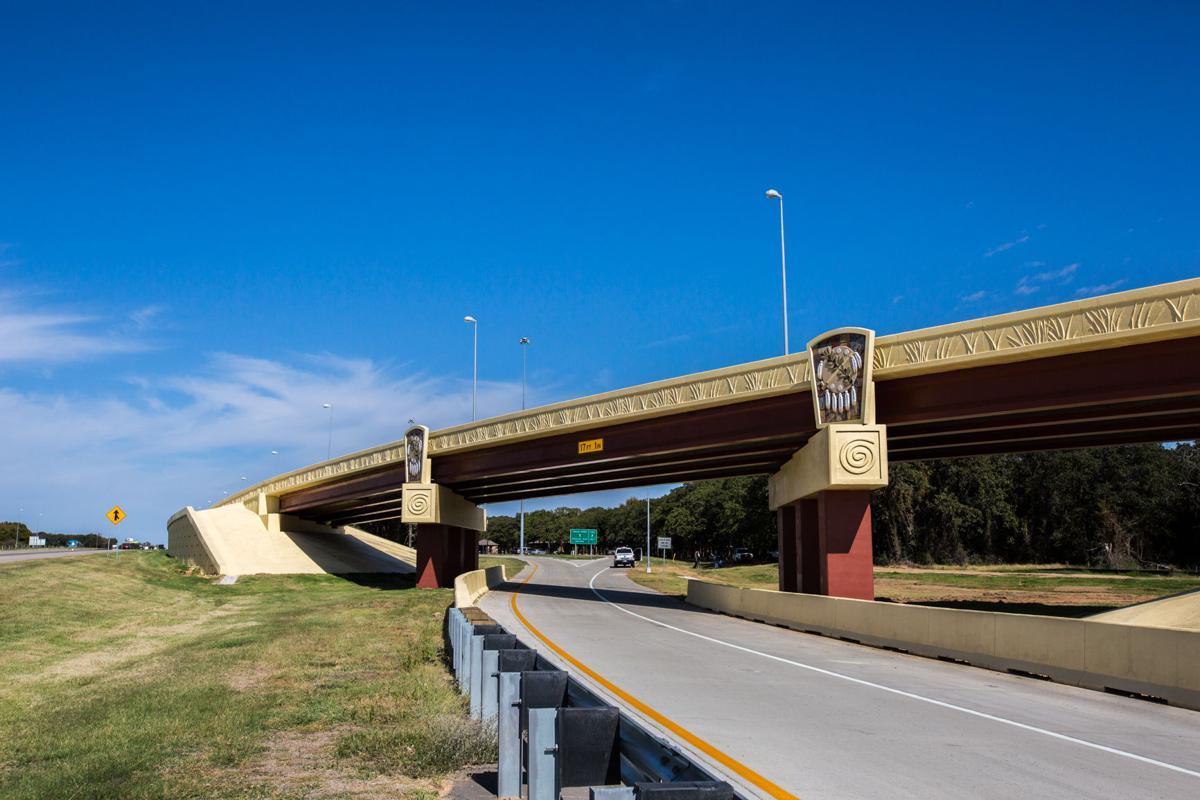 tribe state officials open thackerville exit ramps off i