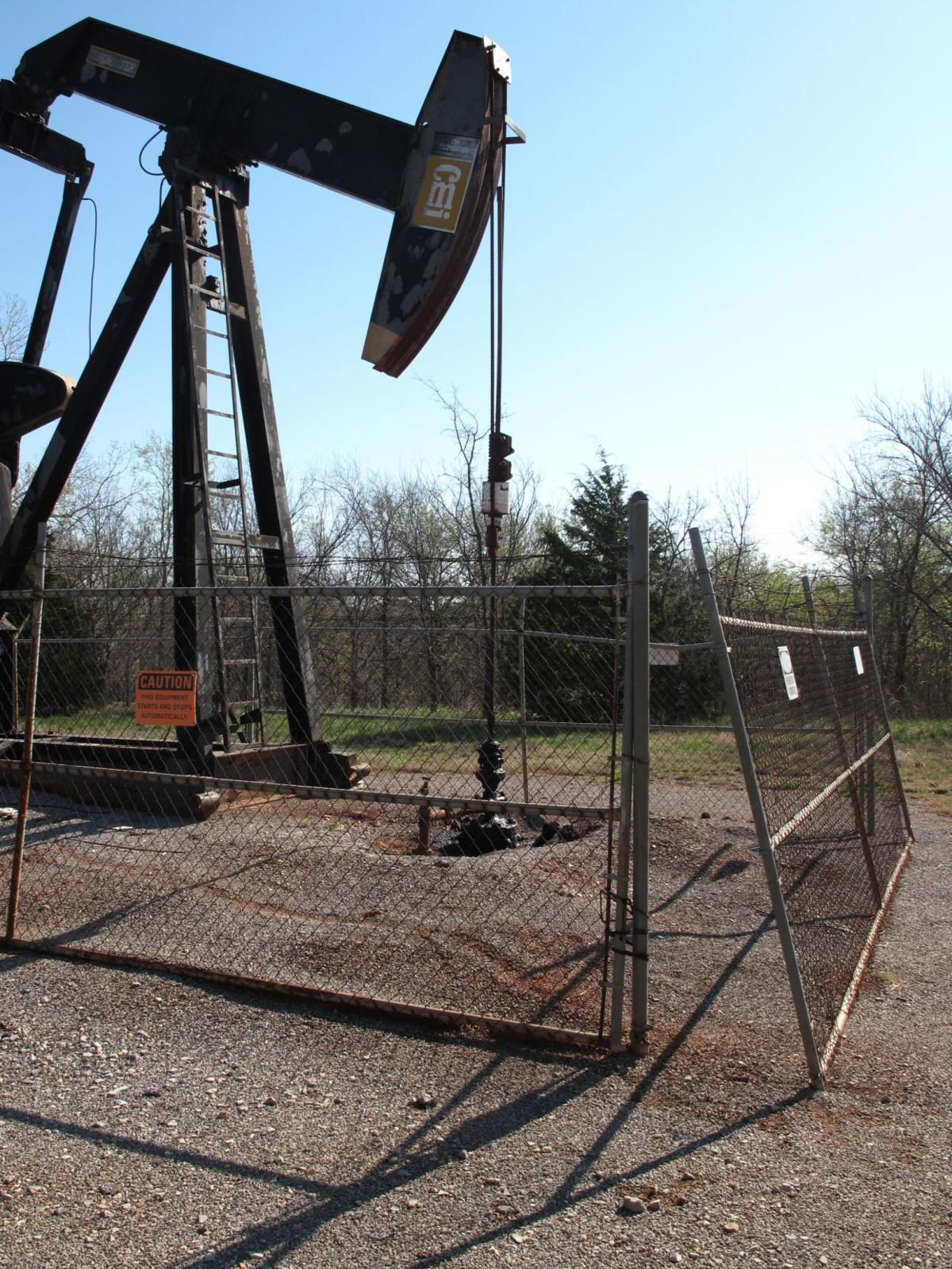 Unfenced oil well sites menace to public safety news