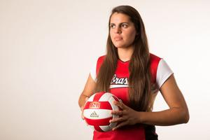 Volleyball: Ostrander taking a lot on her shoulders