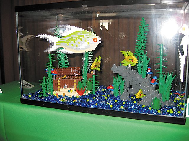 Image gallery lego aquarium for Harry potter fish tank