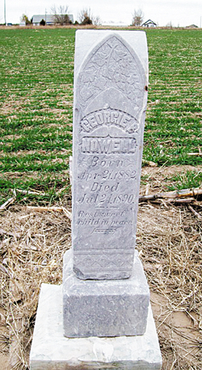 Field marker a grave mystery