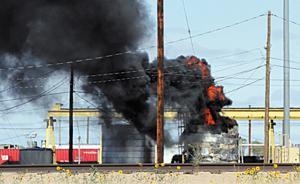 Blast shakes Bailey Yard