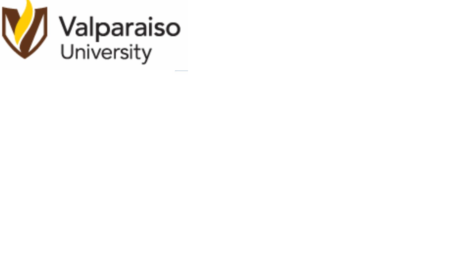 Valparaiso University Graduate Studies & Cont Ed